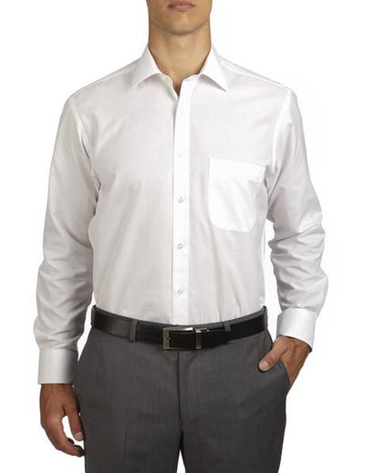 White French Cuff Gold Label Classic Fit Cotton Polyester Shirt