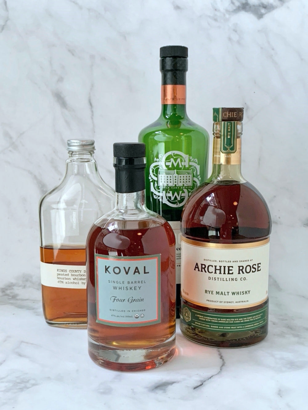 All About Grain - Whisky Tasting Flight