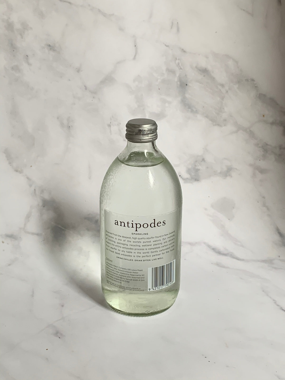 Antipodes Sparkling Water (500ml) Single or 4 Pack