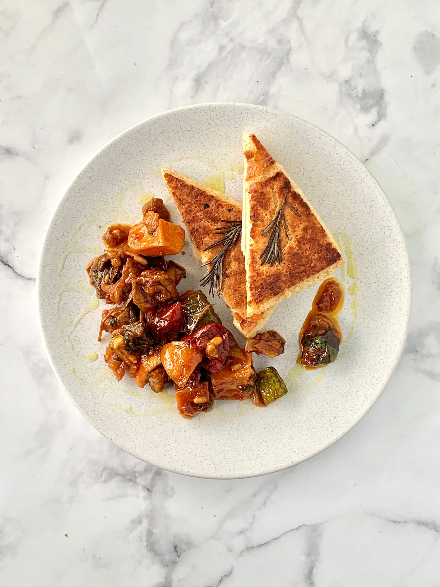 Sicilian Caponata & Sourdough
