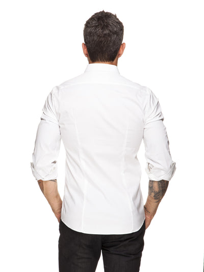 Stretch White Shirt