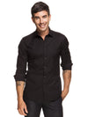 Stretch Black Shirt