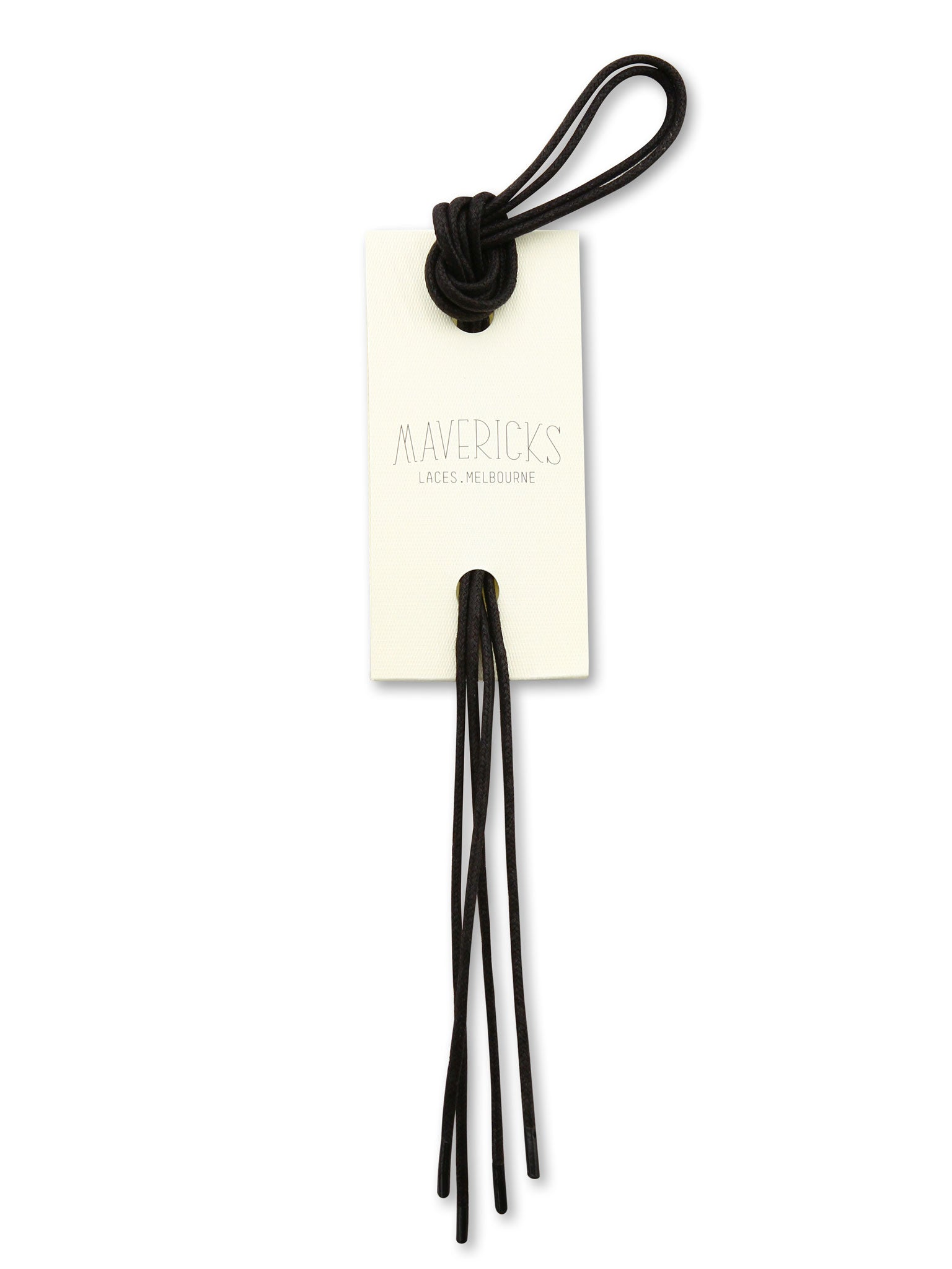 Black Mavericks Hugo Shoes Laces