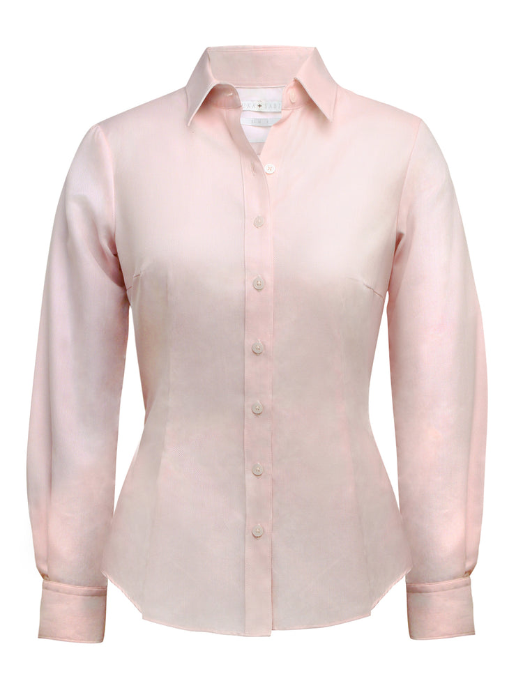 Louka + Sabina Pink Oxford Shirt