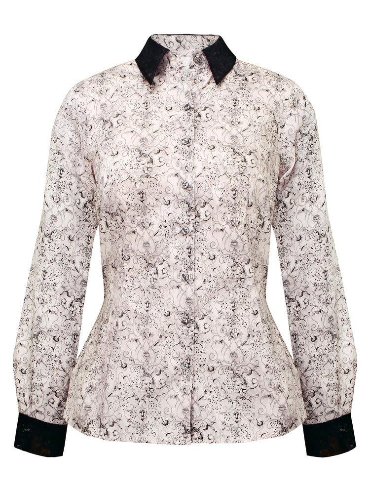 Louka + Sabina Liberty & Lace Shirt