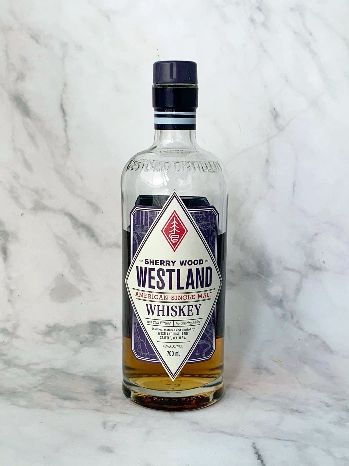 Westland Sherry Wood American Single Malt Whiskey (50ml serve)