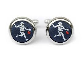 Hannmaid AFL Footy Player Cufflinks