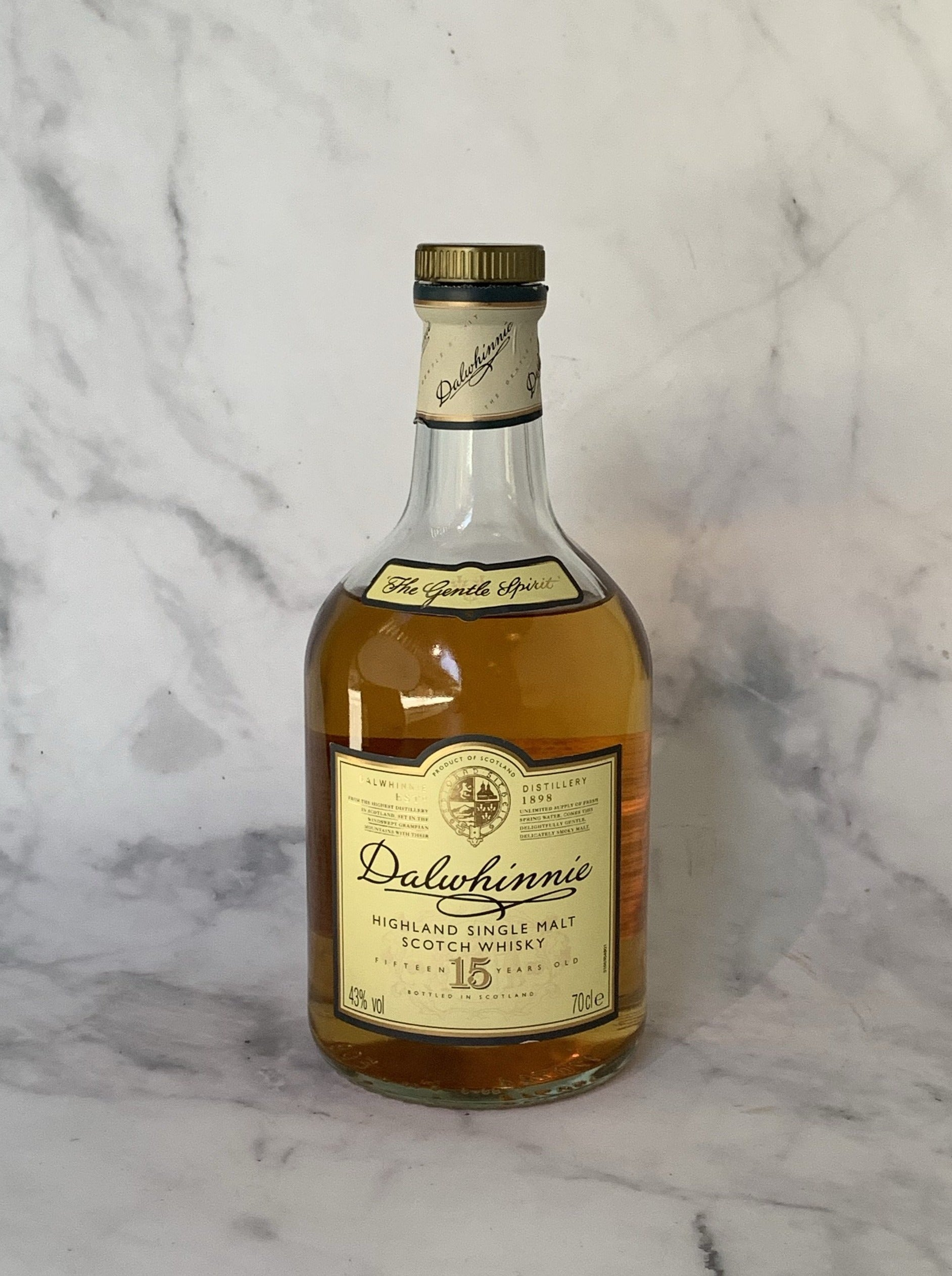 Dalwhinnie 15 (50ml serve)