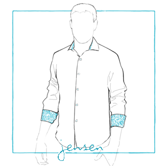 Men's MTO Shirt - Jensen