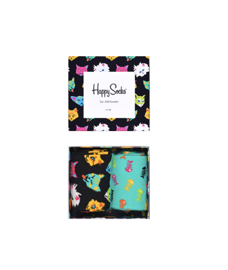 Happy Socks Cat Gift Box