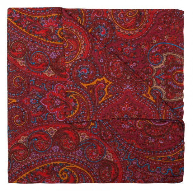 Rembrandt Silk Pocket Square