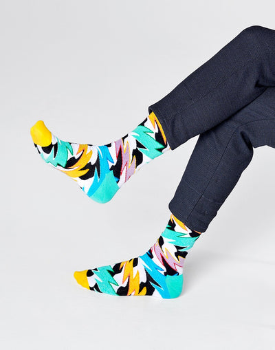 Happy Socks Rock N Roll Polka Stripe Sock