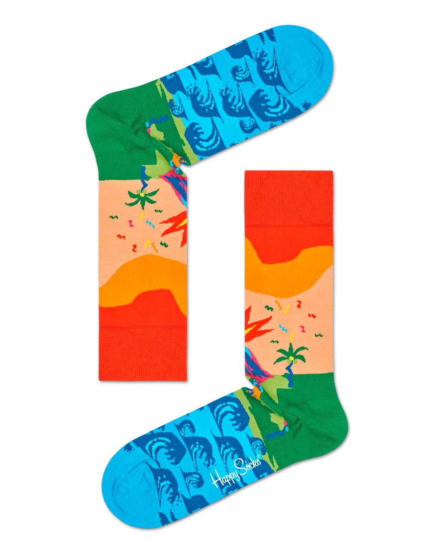 Happy Socks Tropical Island Sock