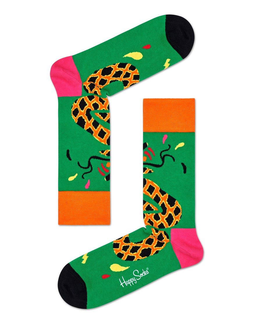Happy Socks Tropical Snake Sock