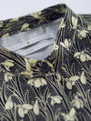 Liberty of London Vintage Black Floral Shirt