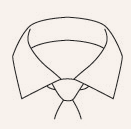 Shirt Bar Semi-Cutaway Collar