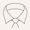 Shirt Bar Spread Collar