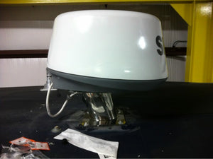 "A64: 6"" Aft Leaning Radar Dome Mount with 4 Degree Down Angle"