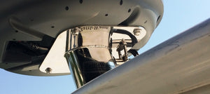 Marine Radar Mount With Sleek Dome Hardware