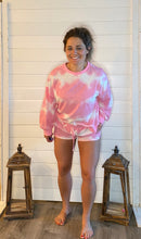 Load image into Gallery viewer, PINK TIE DYE SWEATS SET