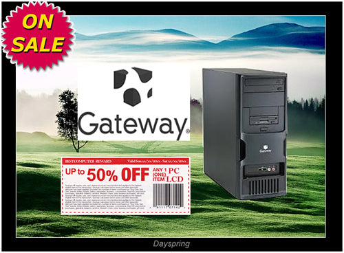 gateway windows 7 desktop