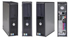 Dell PD 2.8GHZ 4GB 750GB Win7 Pro32bit GX520 GX620 GX745 Desktop