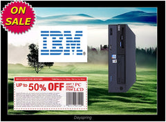 IBM PD 2.8GHZ 1GB 1TB Win7 Pro32bit ThinkCentre 8212 8215 8807 8808..DESKTOP