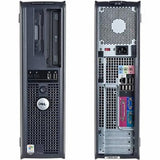 Dell Core 2 Duo WINDOWS 7 Professional OptiPlex 330 360 745 755 Desktop