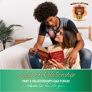 Laws of Relationship (3-Part Series)