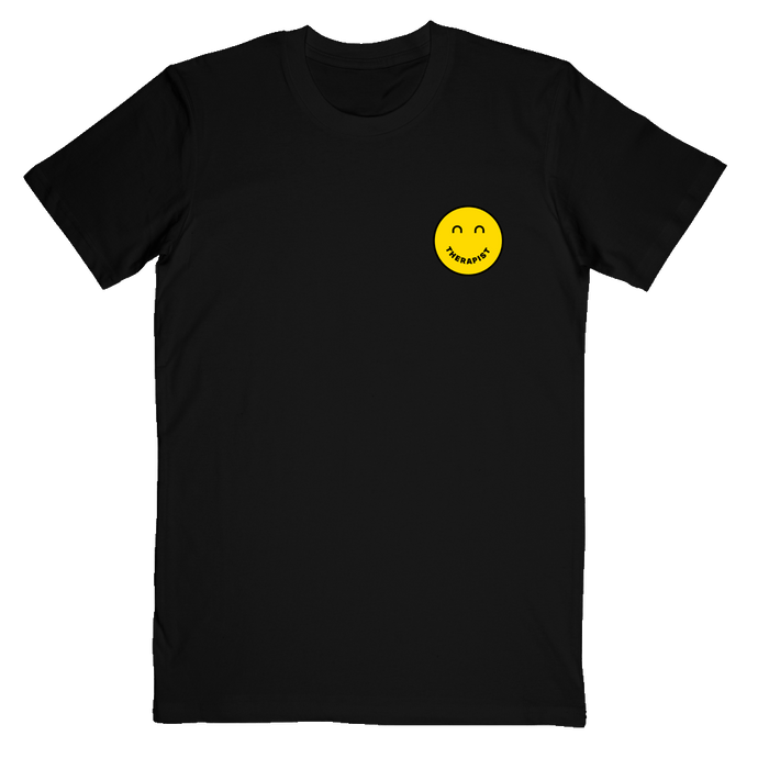 Therapist Black Tee