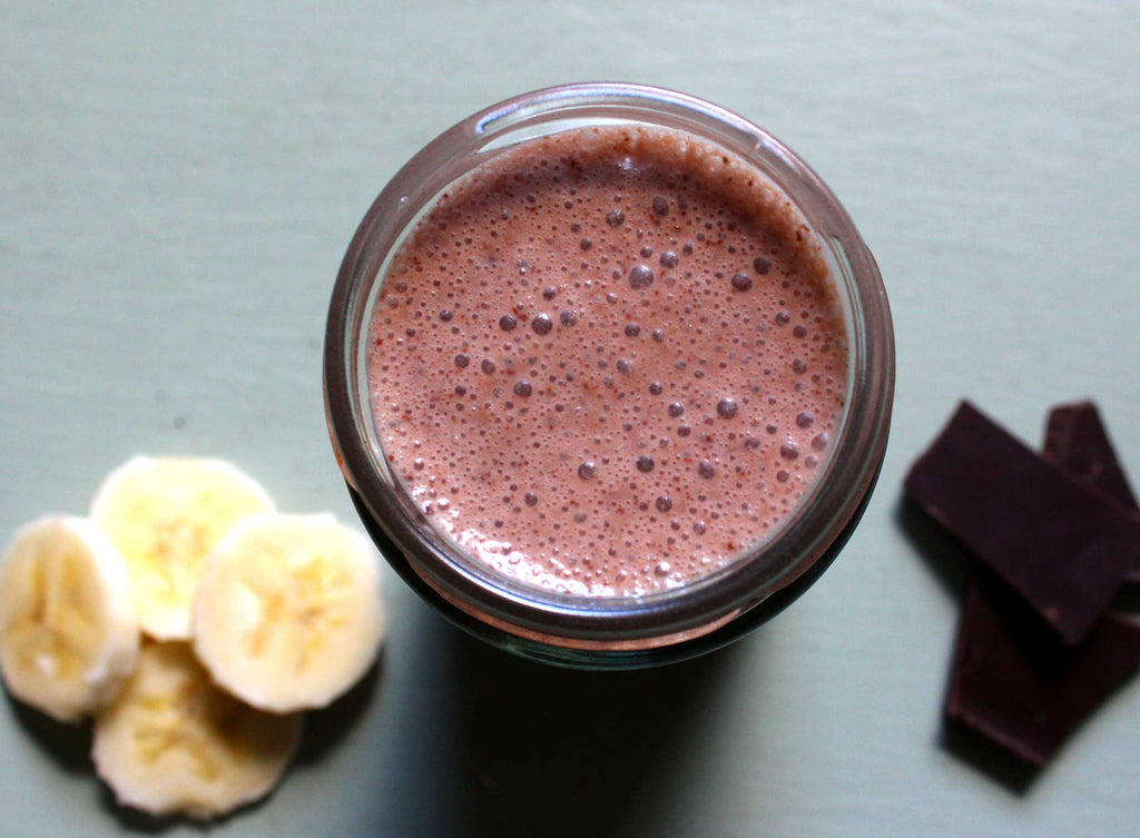 Recipe of the Week: Banana and Chocolate Recovery Shake