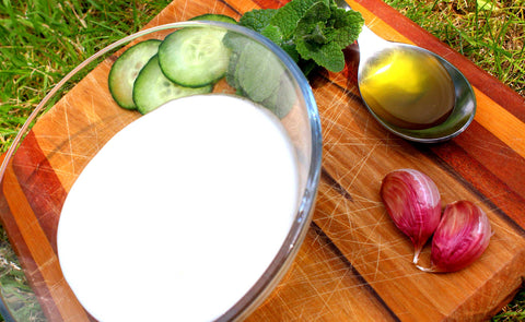 YogurtNest Tzatziki ingredients