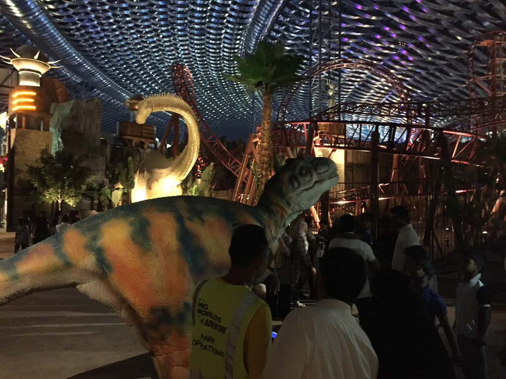 Dino Show at IMG Worlds of Adventure