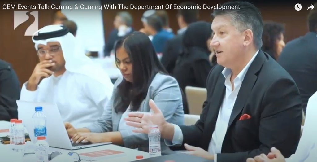 GEM Events Talk Gaming & Gaming With The Department Of Economic Development