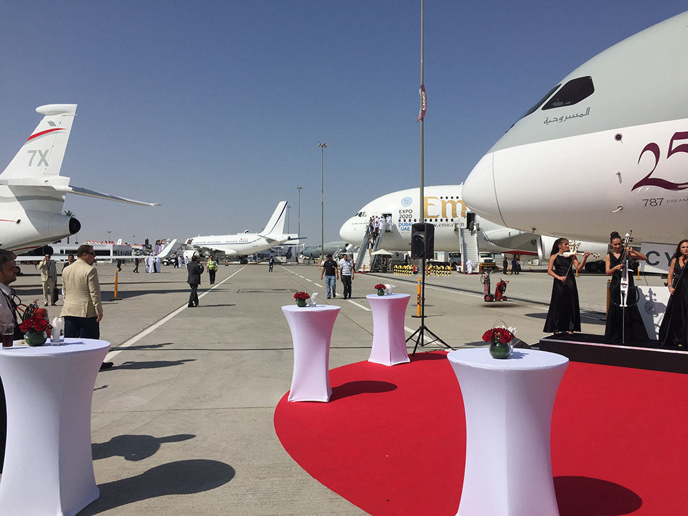 Qatar Airways at the Dubai Airshow 2015