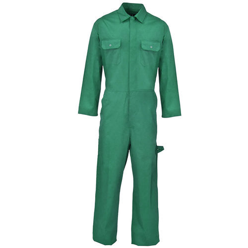 Green Coverall Boiler Suit
