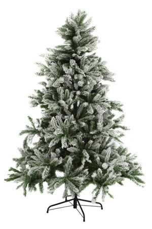 Christmas Bavarian Snow Christmas Tree 6 ft