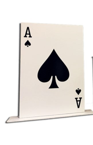 Giant Playing Card Cutout Stand-up Photo Booth Prop Background