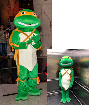 MICHAEL ANGELO COSTUME CHARACTER FORM TEENAGE MUTANT NINJA TURTLES