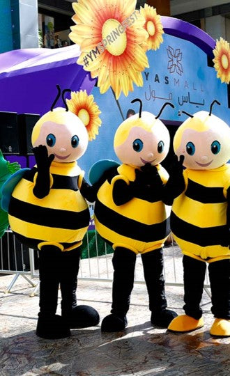 Bumble Bee Mascot Costumes