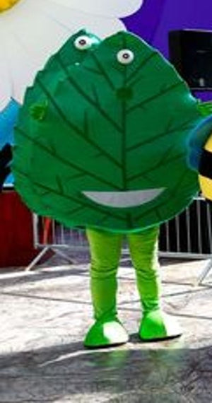 GIANT GREEN LEAF COSTUME