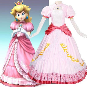 PRINCESS PEACH COSTUME (wig not included)