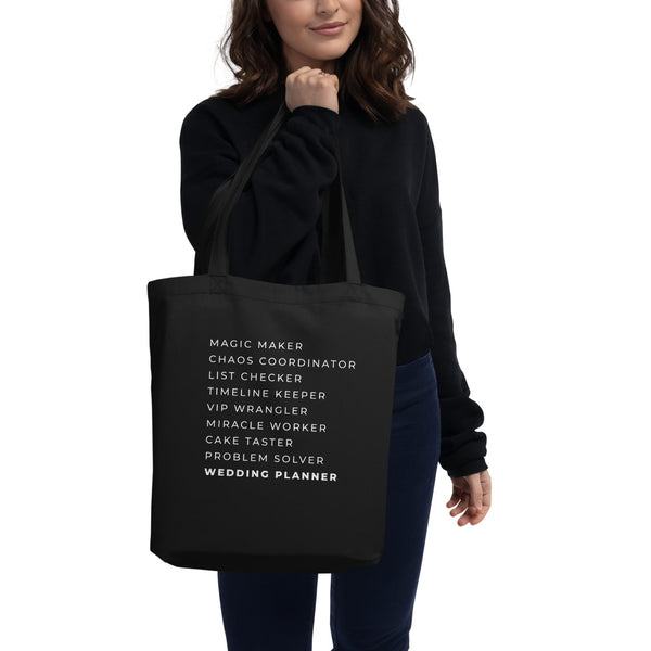 Magic Maker Wedding Planner Organic Tote Bag