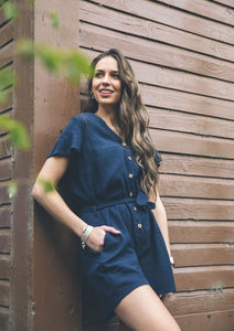 LAVY playsuit navy