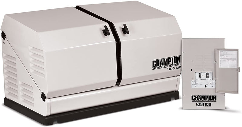 Champion 12.5kW Home Standby Generator with 100-Amp Switch