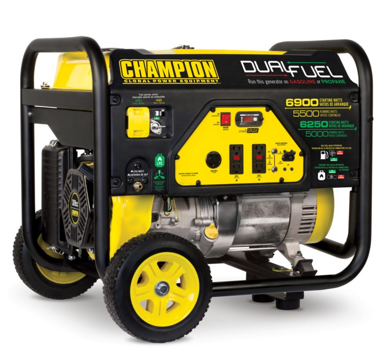 Champion 5500-Watt Dual Fuel Generator