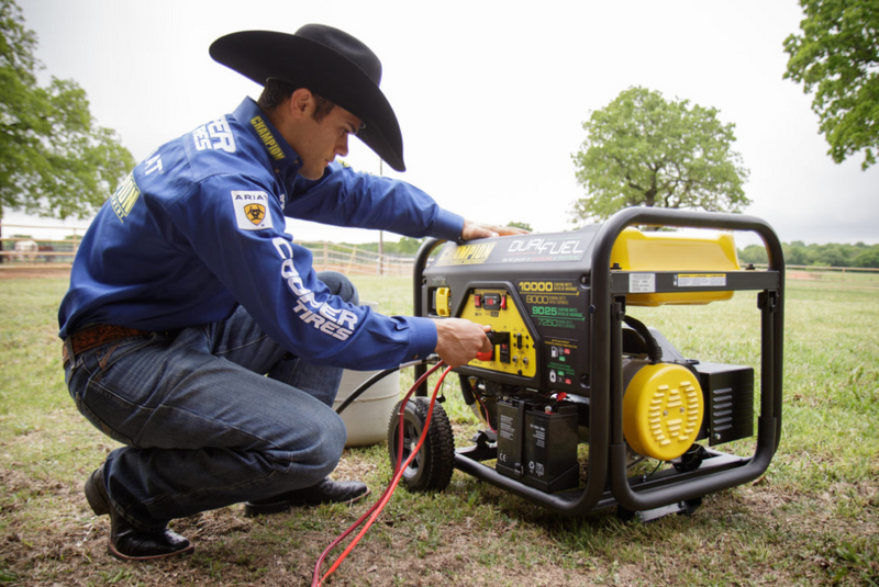 Champion 8000-Watt Dual Fuel Generator
