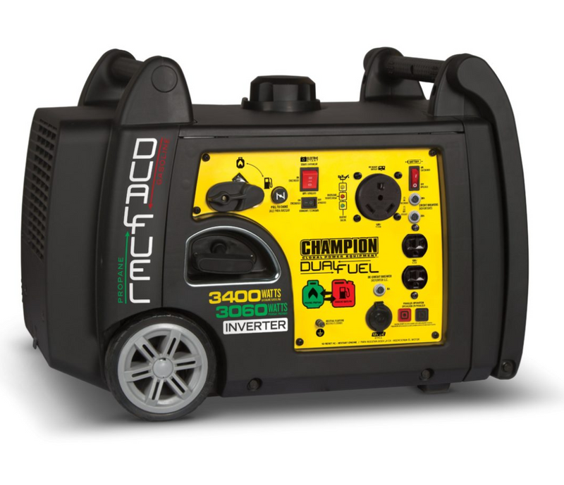 Champion 3400-Watt Dual Fuel Inverter