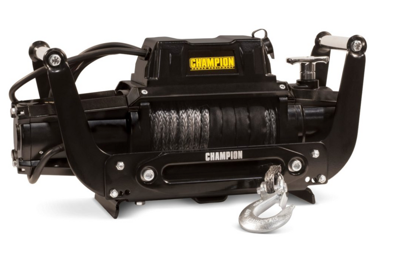 Champion 12,000-lb. Synthetic Winch Kit