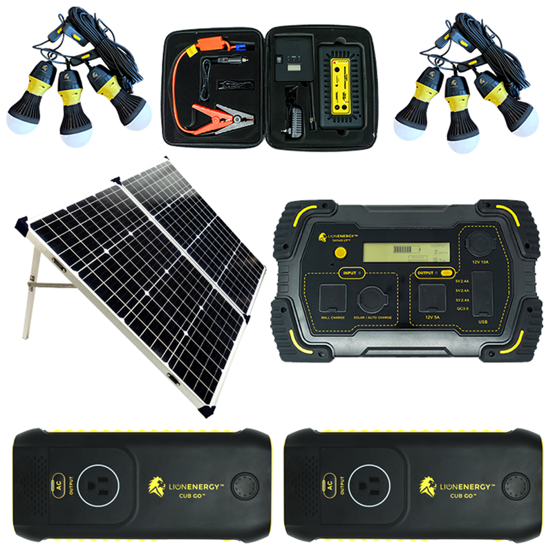 Lion Tailgating Solar Power Station Kit